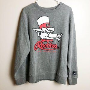 Young & Reckless Logo Crew Neck Sweater